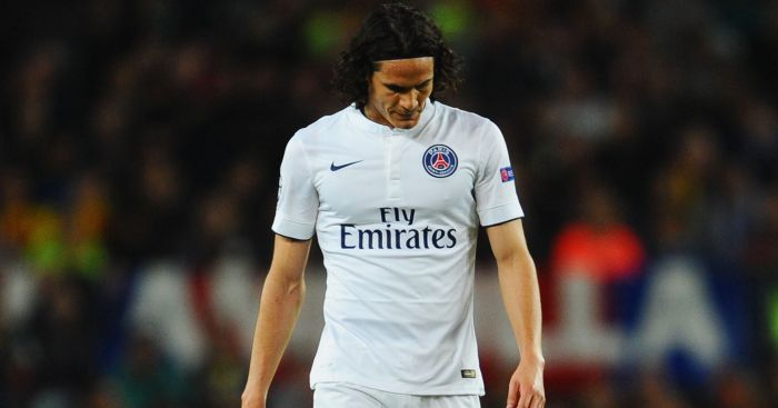 Edinson Cavani: PSG striker linked with Arsenal