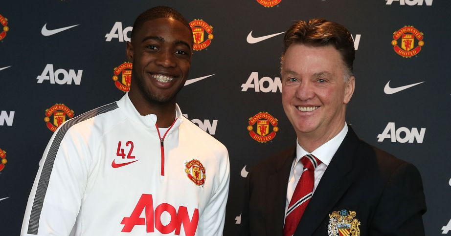 Tyler Blackett: Encouraged by Louis van Gaal to join Celtic