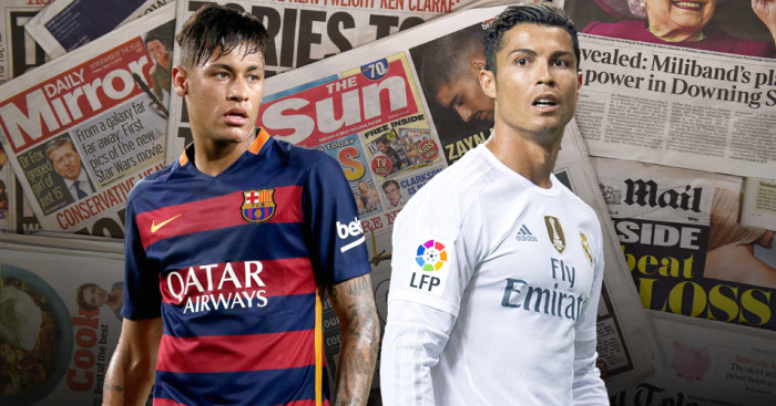 Barcelona & Real Madrid: Both in the news