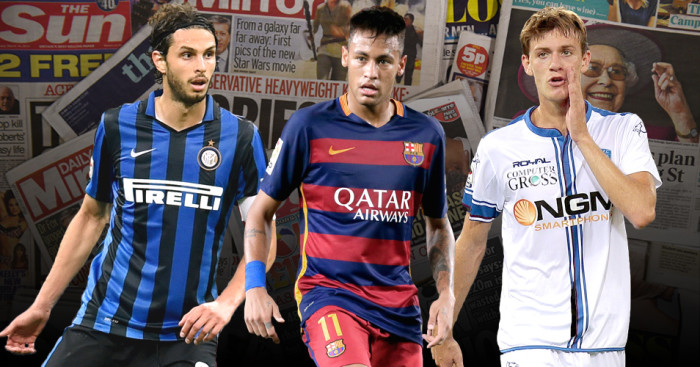 Andrea Ranocchia, Neymar and Daniele Rugani discussed in Friday's Paper Talk