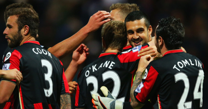 Adam Federici: Celebrates after Bournemouth's penalty shoot-out win at Preston
