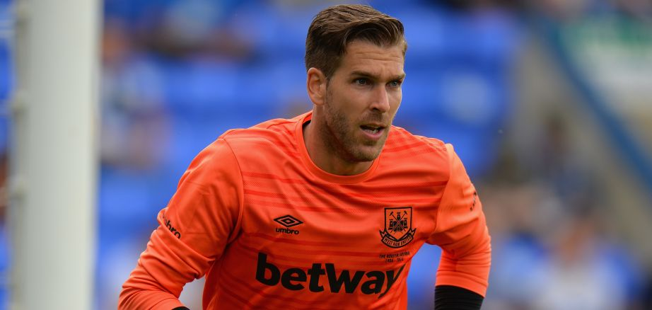 Adrian: West Ham goalkeeper