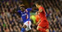 Dejan Lovren: In action for Liverpool against Carlisle on Wednesday