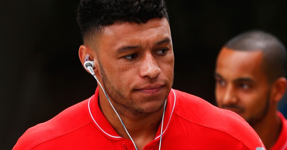Alex Oxlade Chamberlain Arsenal TEAMtalk