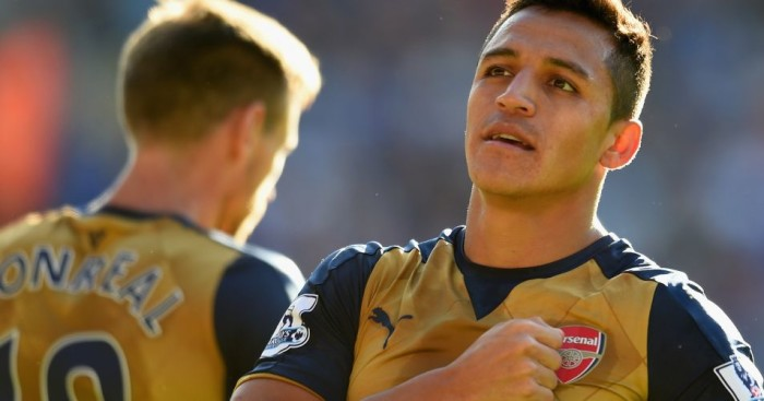 Alexis Sanchez Arsenal TEAMtalk