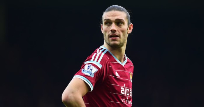 Andy Carroll: Could return for West Ham against Newcastle