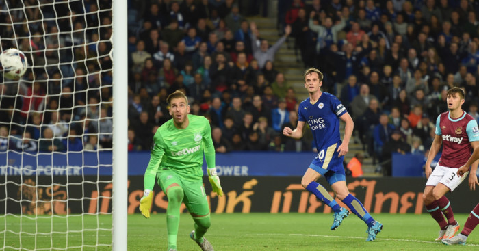 Andy King: Leicester midfielder scores the winner against West Ham