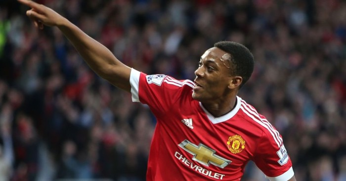 Anthony Martial: Scored the third against Liverpool