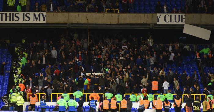 Arsenal fans v Tottenham TEAMtalk