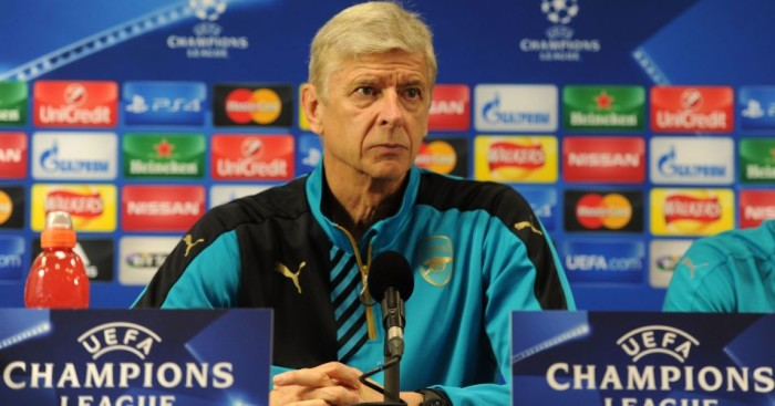 Arsene Wenger: Preparing Arsenal for Bayern Munich clash