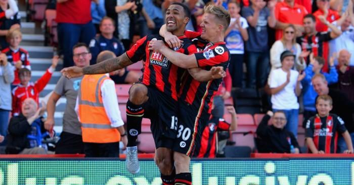 Bournemouth's Callum Wilson and Matt Ritchie