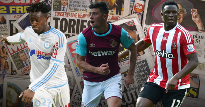 Aaron Cresswell, Victor Wanyama and Michy Batshuayi on transfer radar