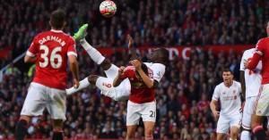 Christian Benteke: Scored with an overhead kick