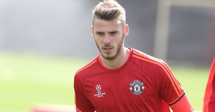 David de Gea Manchester United, TEAMtalk