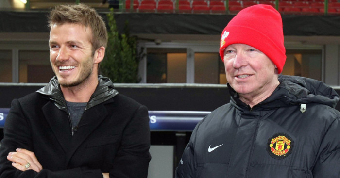 David Beckham: Honoured to play for Sir Alex Ferguson and Manchester United