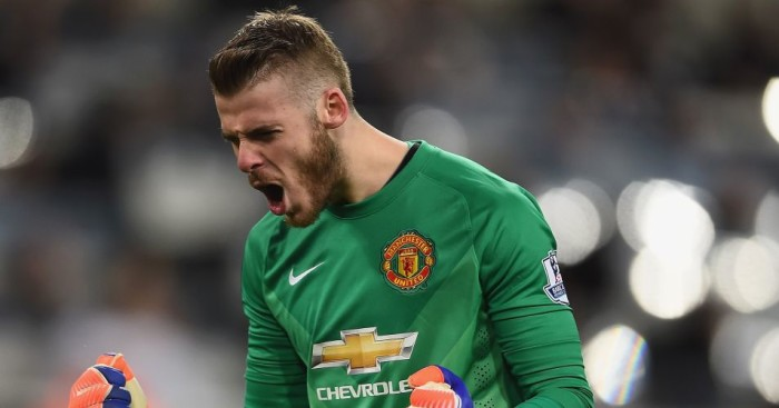 David de Gea: Tipped to sign new Manchester United deal