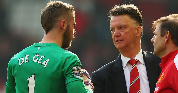 David de Gea: Could carry on playing under Louis van Gaal