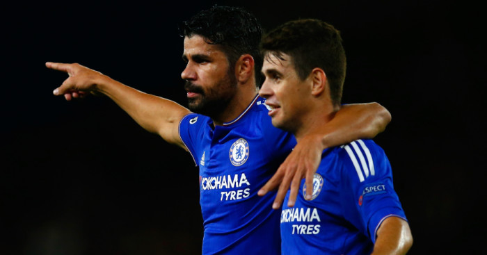 Diego Costa Oscar Chelsea TEAMtalk