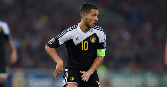 Eden Hazard: Scored Belgium's winner in Cyprus