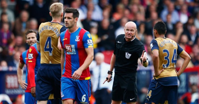 Francis Coquelin: Arsenal man avoided red card against Crystal Palace