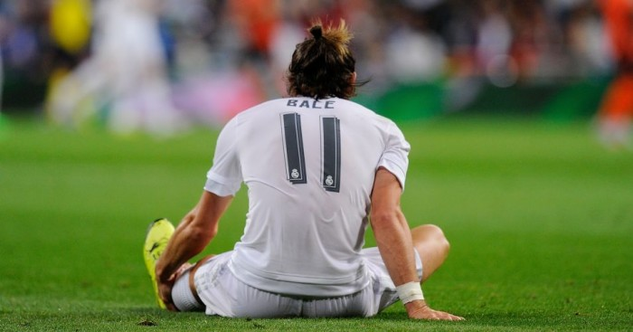 Gareth Bale: Injured in Real Madrid's win over Shakhtar Donetsk