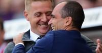 Monk: Saw Swansea progression in Everton draw