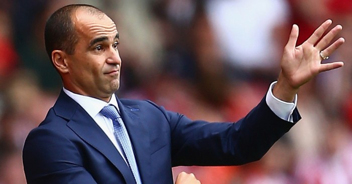 Roberto Martinez: Happy with Everton's response at West Ham