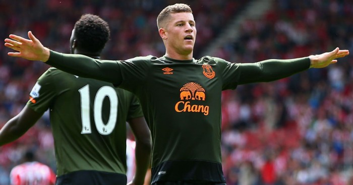 Ross Barkley: Has been in excellent form for Everton this season