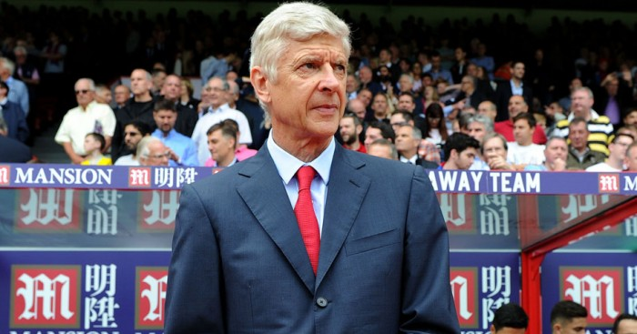 Arsene Wenger: Arsenal manager posed for fashion shoot