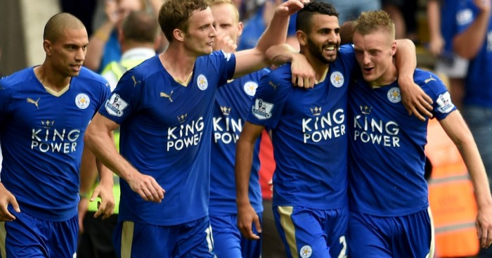 Riyad Mahrez: Keeping calm about Leicester's title run-in