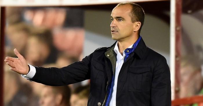 Roberto Martinez: Expects difficult match at the Etihad Stadium