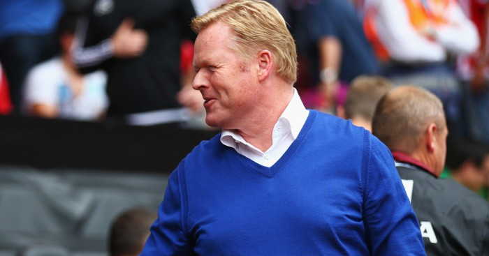 Ronald Koeman: Thinking of bringing in a new striker