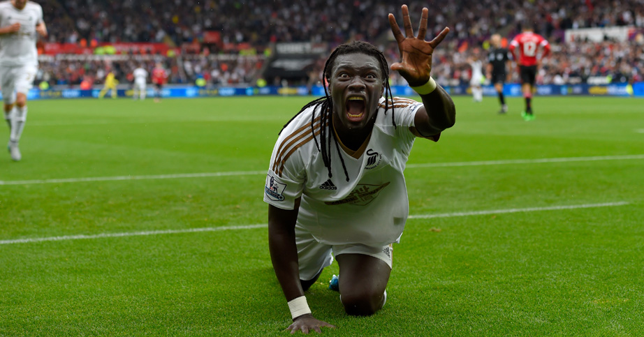 Bafetimbi Gomis: Swansea striker has scored four goals in four Premier League games