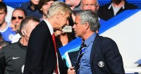 Jose Mourinho (r): Is 'obsessed' with managerial rival Arsene Wenger, says Ian Wright