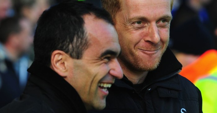 Roberto Martinez: Has hailed management protege Garry Monk