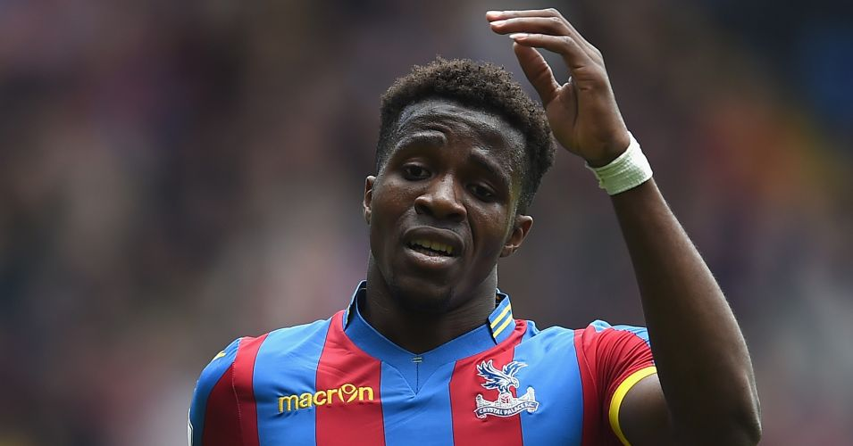 Wilfried Zaha: Criticised by manager Alan Pardew for his performance against Spurs