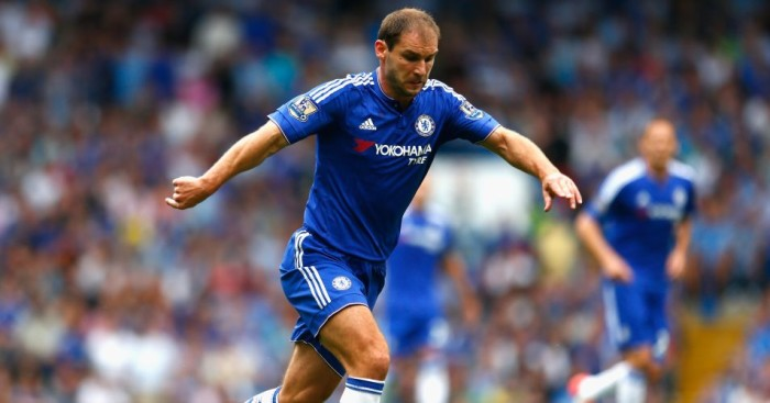 Branislav Ivanovic: Misses out against Aston Villa