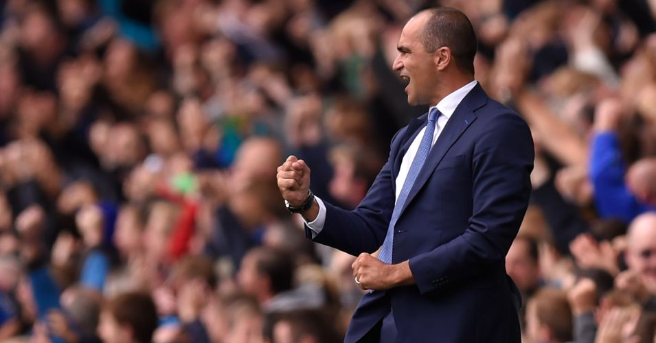 Roberto Martinez: Delighted with the standard of his Everton squad