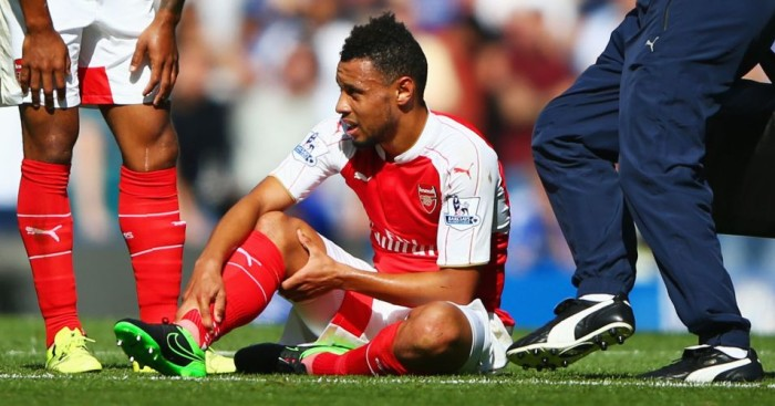 Francis Coquelin: Arsenal midfielder could return against Olympiakos