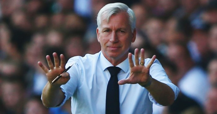 Alan Pardew: Faces his former employers on Saturday as Palace host West Ham