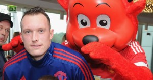 Phil Jones: Delighted to be back in the Manchester United fold once more