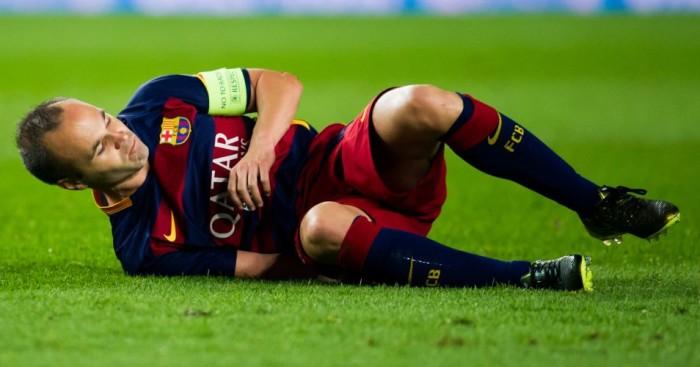 Andres Iniesta Barcelona TEAMtalk