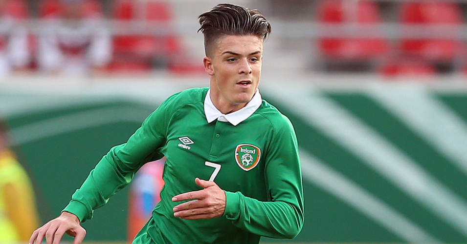 Jack Grealish: Has represented Republic of Ireland at Under-21 level