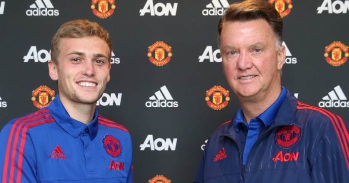 James Wilson Louis van Gaal Manchester United TEAMtalk