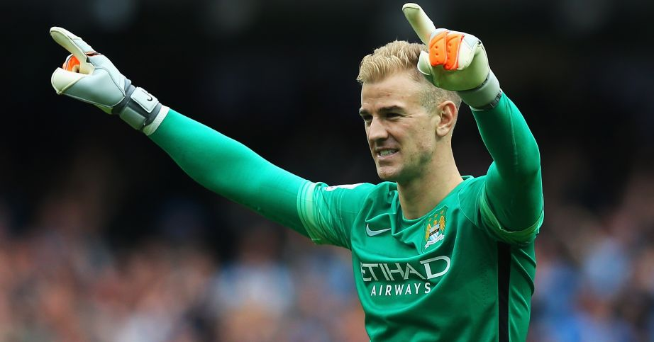 Joe Hart: Manchester City goalkeeper