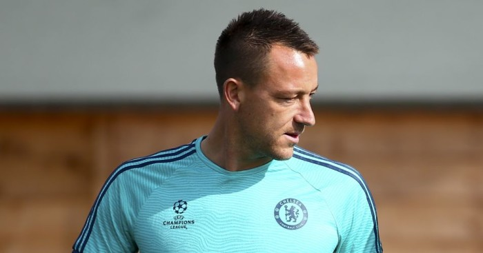 John Terry: Set to return for Chelsea against Tottenham