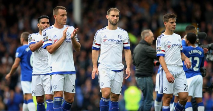 John Terry, Branislav Ivanovic and Cesar Azpilicueta: Could all lose Chelsea places