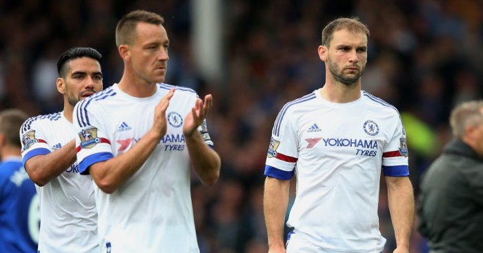 John Terry and Branislav Ivanovic: Have been treated differently by Chelsea boss