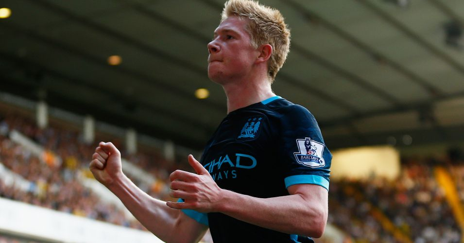 Kevin De Bruyne: In the money at Manchester City
