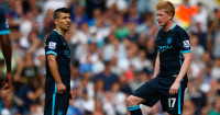 Kevin De Bruyne: Netted against Spurs - but best position still in doubt